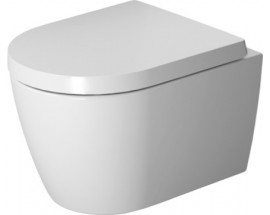 ME by Starck Wand-WC Duravit Rimless® Set 56cm